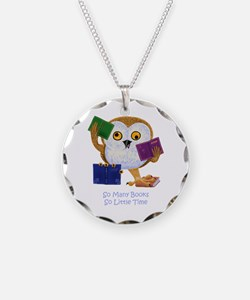 So Many Books So Little Time Necklace