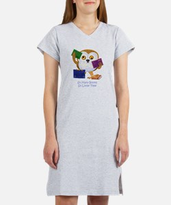 So Many Books So Little Time Women's Nightshirt