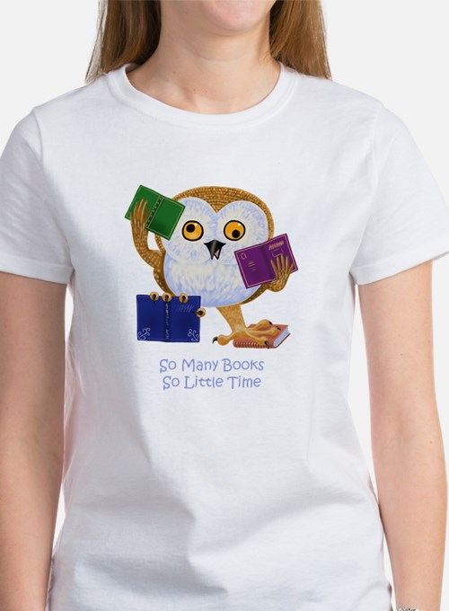 So Many Books So Little Time T-Shirt