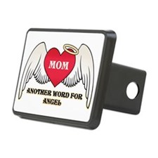 Angel Mom Hitch Cover