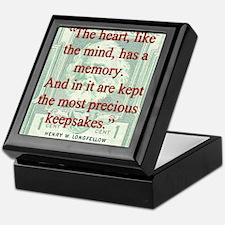 The Heart Like The Mind - Longfellow Keepsake Box