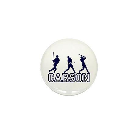 Baseball Carson Personalized Mini Button