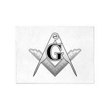Freemason2 5'x7'Area Rug
