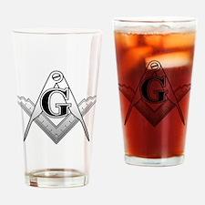 Freemason2 Drinking Glass