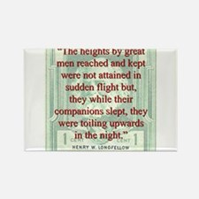The Heights By Great Men Reached - Longfellow Magn