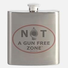 NOT A GUN FREE ZONE Flask