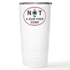 NOT A GUN FREE ZONE Travel Mug