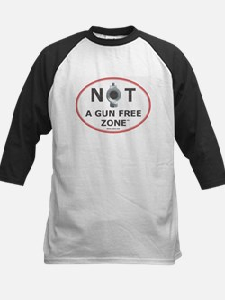 NOT A GUN FREE ZONE Baseball Jersey