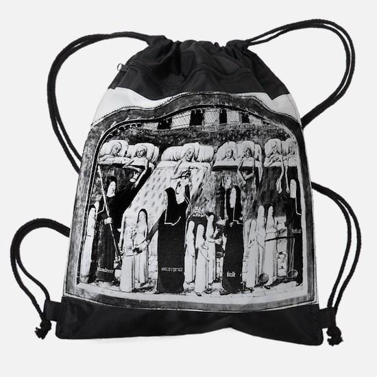 Paris hospital, 15th century Drawstring Bag