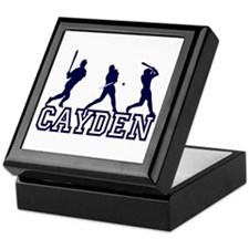 Baseball Cayden Personalized Keepsake Box