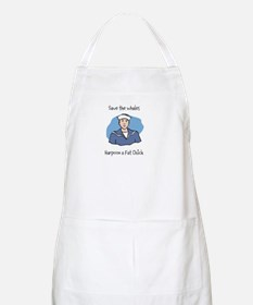 Save the Whales Harpoon a Fat Chick Apron