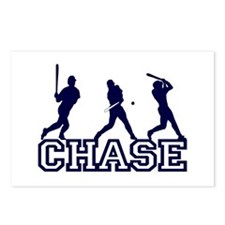 Baseball Chase Personalized Postcards (Package of