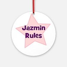 Jazmin Rules Ornament (Round)