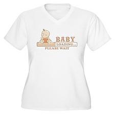 Baby Loading Plus Size T-Shirt
