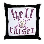Hell Raiser Funny Throw Pillow