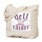 Hell Raiser Funny Tote Bag