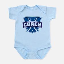 Field Hockey Coach (blue) Body Suit
