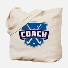 Field Hockey Coach (blue) Tote Bag