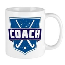 Field Hockey Coach (blue) Mug