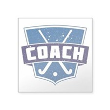 Field Hockey Coach (blue) Sticker