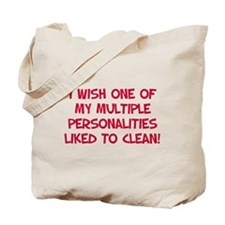 Personality Cleaning Tote Bag