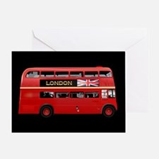 The London Bus Greeting Card
