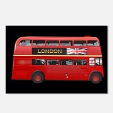 The London Bus Postcards (Package of 8)