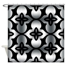 Latice Illusion Square Shower Curtain