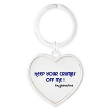 KEEP YOUR CRUMBS OFF ME Keychains
