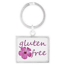 gluten-free hibiscus Keychains
