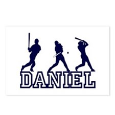 Baseball Daniel Personalized Postcards (Package of