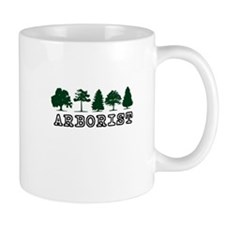 Arborist Clean Cut Small Mug