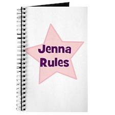 Jenna Rules Journal