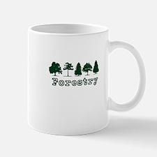 Forestry Small Mug