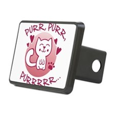 Purr, purr, purrrrr kitty Hitch Cover