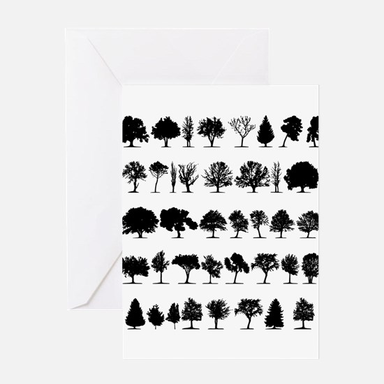 treesmisc Greeting Card