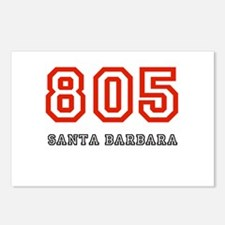 805 Postcards (Package of 8)