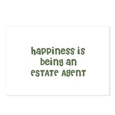 Happiness is being an ESTATE  Postcards (Package o