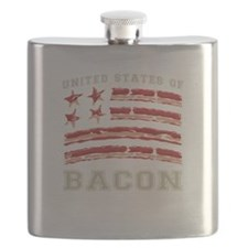 United States of Bacon Flask