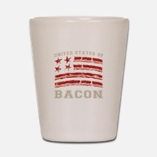 United States of Bacon Shot Glass
