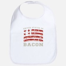United States of Bacon Bib