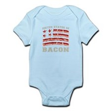 United States of Bacon Body Suit