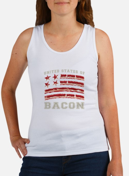 United States of Bacon Tank Top