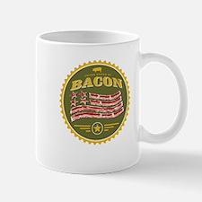 United States of Bacon Seal (olive) Mug