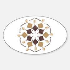 S'mores Snowflake! Decal