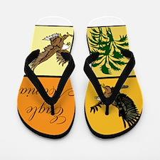 Eagle Mania Flip Flops