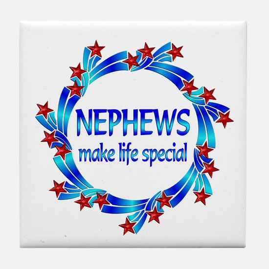 Nephews are Special Tile Coaster