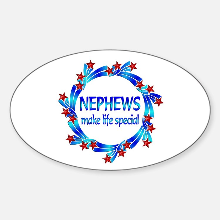 Nephews are Special Sticker (Oval)