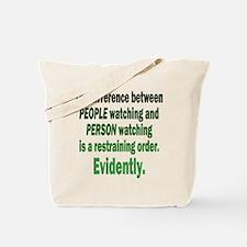 Restraining Order Tote Bag