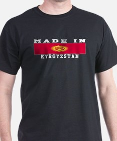 Kyrgyzstan Made In T-Shirt